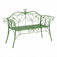 Zahradní lavička, zelená, ETELIA