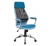 Kancelářská židle Q336 MODRÁ