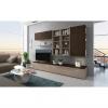 Obývací stěna, olše Panama/Buffalo hnědá, GIJON
