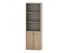 Kancelářská skříňka se zámkem, dub sonoma, TEMPO AS NEW 002
