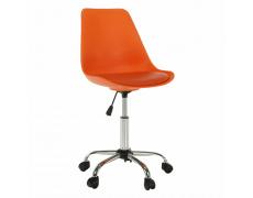Kancelářská židle, oranžová, DARISA