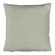 Polštář, sametová látka světlezelená, 45x45, ALITA TYP 14