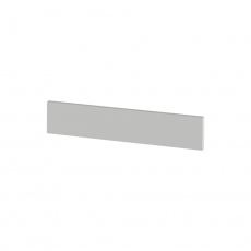 Koncový boční sokl na vysoké skříňky, bílá, JULIA TYP 92