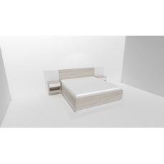 Noční stolek SMART s USB nabíječkou  ( půda 25mm )