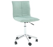 Kancelářská židle, mentolová, CRAIG