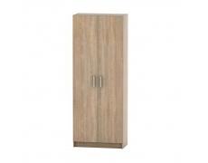 2-dveřová skříň, policová, dub sonoma, BETTY 7 BE07-004-00
