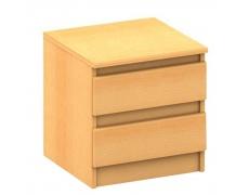 2 šuplíkový noční stolek, buk, HANY 002
