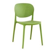 Židle, zelená, FEDRA