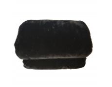 Kožešinová deka, černá, 150x180, Rabita NEW TYP 1