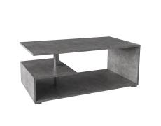 Konferenční stolek na kolečkách, beton, DORISA