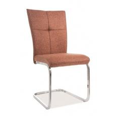 Jídelní židle H190 cihlově béžová