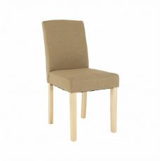 Jídelní židle, béžová/buk, SELUNA