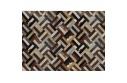 Luxusní koberec, pravá kůže, 200x300, KŮŽE TYP 2