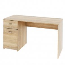 PC stůl, dub sonoma, BANY