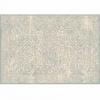 Koberec, krémový / šedý vzor, 67x105, ARAGORN