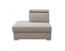 Otoman OTT MINI na objednávku k luxusní sedací soupravě, béžová, levý, MARIETA