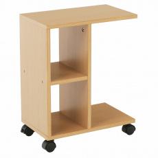 Příruční stolek, dřevo borovice, ABBAS NEW