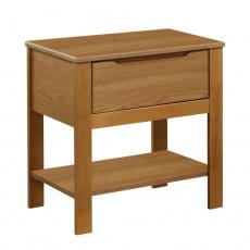 Noční stolek, dub, KABOTO