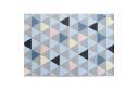 Koberec, vícebarevný, 67x120, PETAL