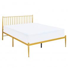 Postel, zlatý nátěr, 160x200, Z AHARA
