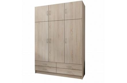 Kombinovaná skříň, dub sonoma, GERI