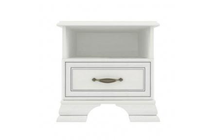 Noční stolek 1S, woodline krém, TIFFY 11