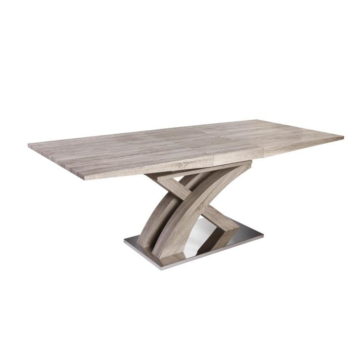 Jídelní stůl, dub sonoma, BONET TYP 2