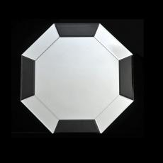Zrcadlo, černá / bílá, ELISON TYP 14