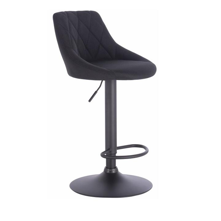 Barová židle, černá, TERKAN
