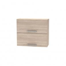 Horní výklopná skříňka 2DV, dub sonoma, NOPL-015-OH