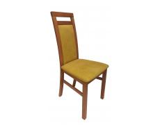 ALAN 2 jídelní židle olše, látka 26