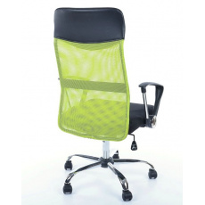 Kancelářská židle Q025 černo-zelená PREZIDENT II