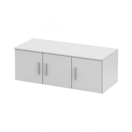 Nástavec na skříň, bílá, NOKO-SINGA  83N
