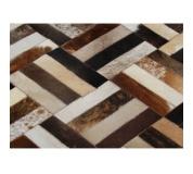 Luxusní koberec, pravá kůže, 170x240, KŮŽE TYP 2