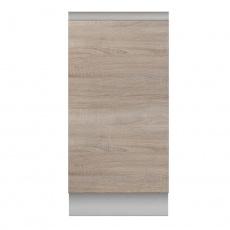 Dolní skříňka D 40, dub sonoma/bílá, LINE