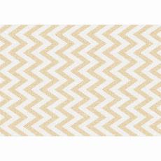 Koberec, béžovo-bílá vzor, 57x90, ADISA TYP 2