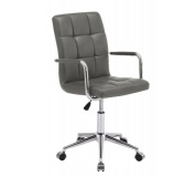 Kancelářská židle Q022 šedá