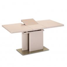 Jídelní rozkládací stůl, capuccino extra vysoký lesk, Virat