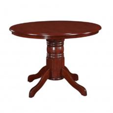 Jídelní stůl, kulatý, kaštan, TABLOS