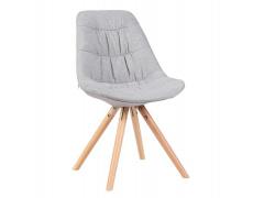 Židle, látka šedá / dub, REGE Typ 1