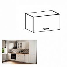 Horní skříňka G50K, bíla/sosna Andersen, SICILIA