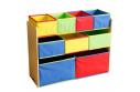 Organizér na hračky, vícebarevná, NORDEN