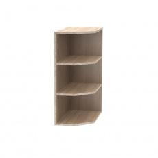 Horní koncová skříňka, dub sonoma, NOVA PLUS NOPL-003-OH