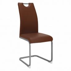 Jídelní židle, hnědá, DEKOMA