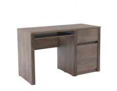 PC stolek, dub lefkas tmavý, MONTANA B1