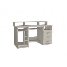 Pc a psací stůl WEST, pravý