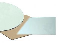 Sklo - ovál 90x160 cm kouřové