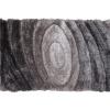 Koberec, šedý vzor, 80x150, VANJA