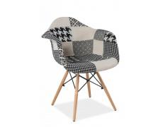 Konferenční židle DENIS B_2 šedé