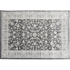 Koberec, tmavě šedá / vzor, 133x190, AZIR